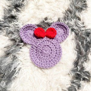 ✨ NWT Disney Inspired Ariel Crochet Coaster   Handmade